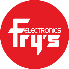 Free delivery when you order +$25 from Fry's Electronics.